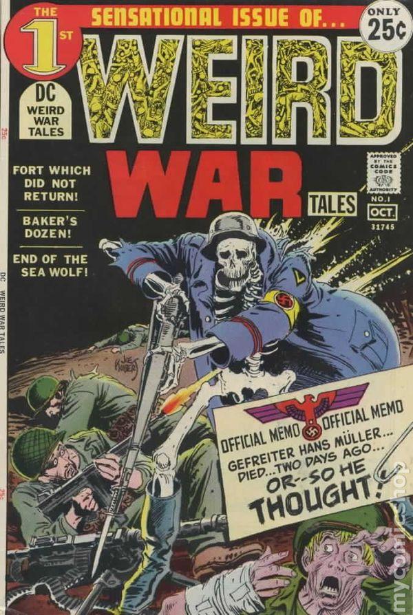 Weird War Tales 1971 Dc Comic Books