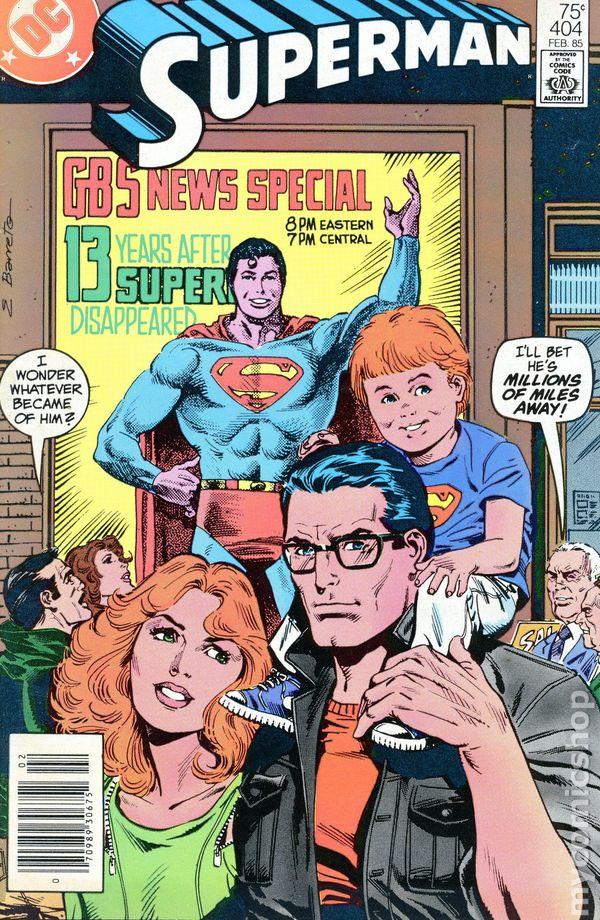 Superman #404 FN 1985 Stock Image