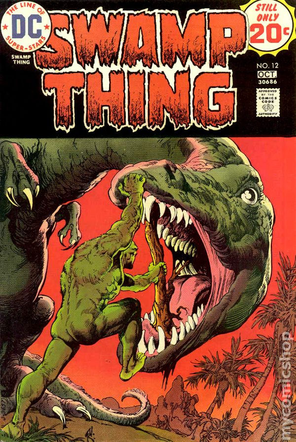 Swamp Thing 1972 1st Series Comic Books