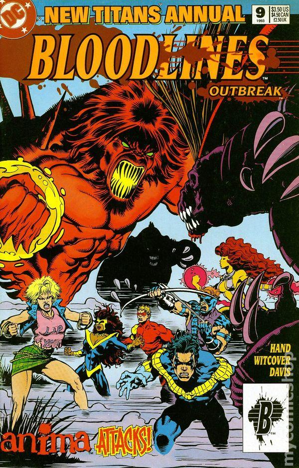 Teen Titans #9B Pantalena Variant FN 2017 Stock Image