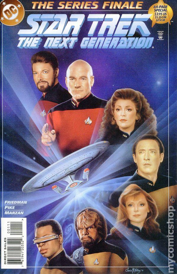 The Next Gigi Hadid Lisa Rinna S Teen Daughter Delilah: Star Trek The Next Generation Series Finale (1994) Comic Books