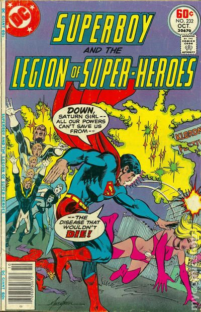 #203 1974 Superboy And The Legion Of Superheros 1st Series Dc