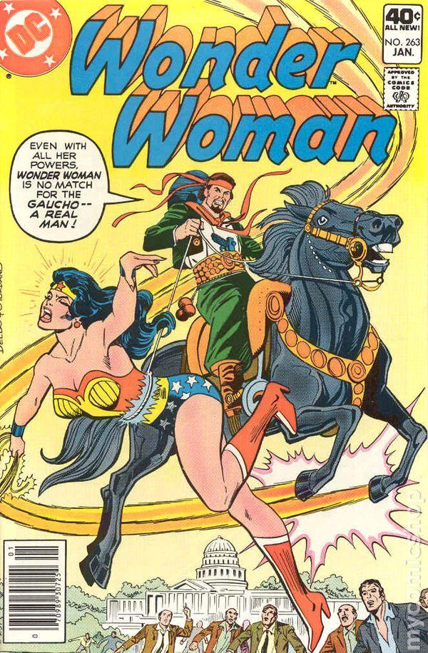 Wonder Woman 1942 1St Series Dc Comic Books 1980-1989-2853