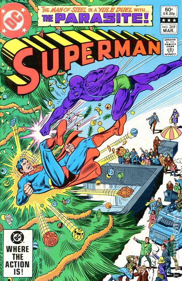 Superman Parasite >> Superman 1939 1st Series 369 Fn