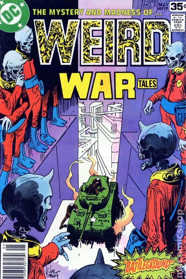 DC Weird War Tales #61 1978 FN 6.0 Stock Image