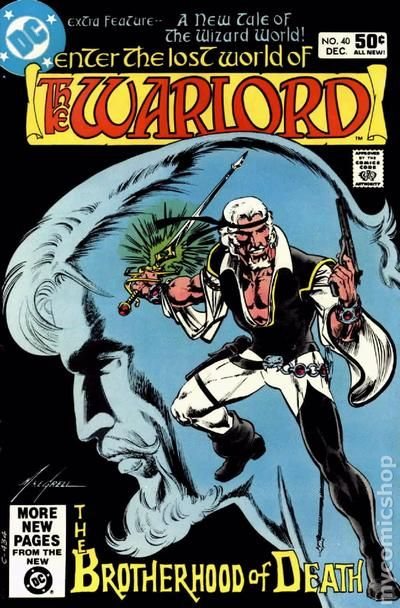 TWO Tales Of The Lost World Of The Warlord #28 DC Comics 2 For Sale