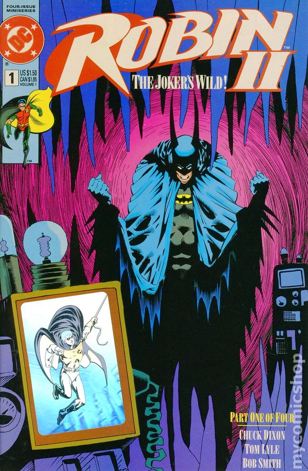 1991 Chuck Dixon /& Tom Lyle Regular Covers No.1-4 Robin II The Joker´s Wild