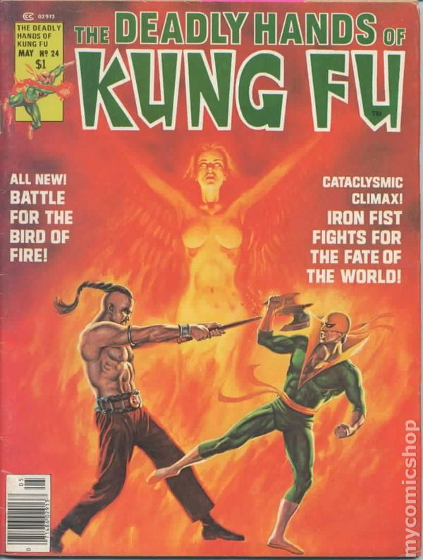 deadly hands of kung fu  1974 magazine  comic books