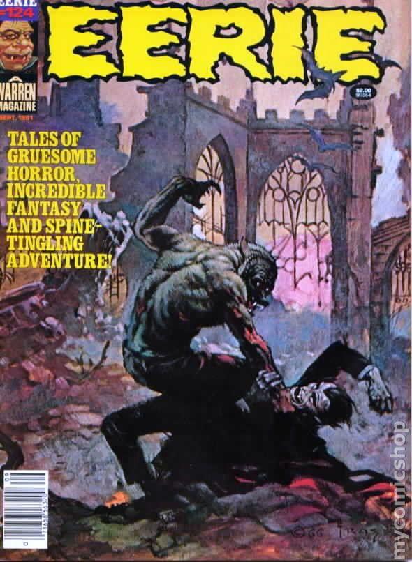 Eerie (1966 Warren Magazine) comic books