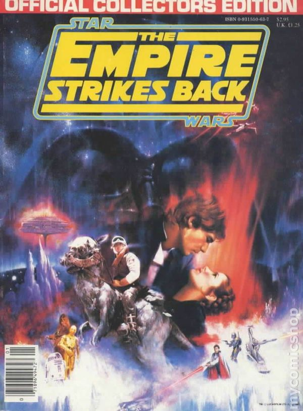 Gold For Cash >> Star Wars Empire Strikes Back Official Collector's Edition (1980) comic books