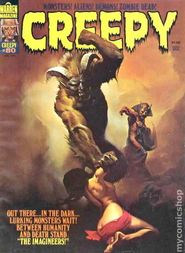 Creepy 1964 Magazine Comic Books