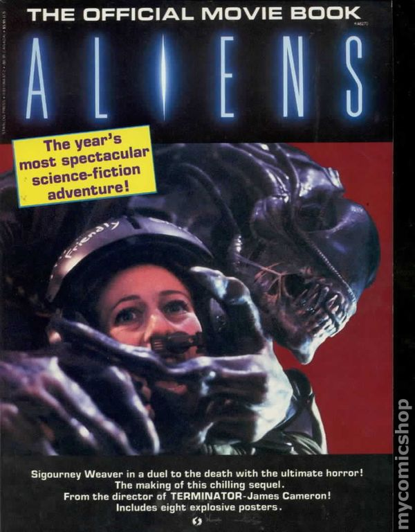 Aliens Official Movie Book 1986 Starlog Comic Books