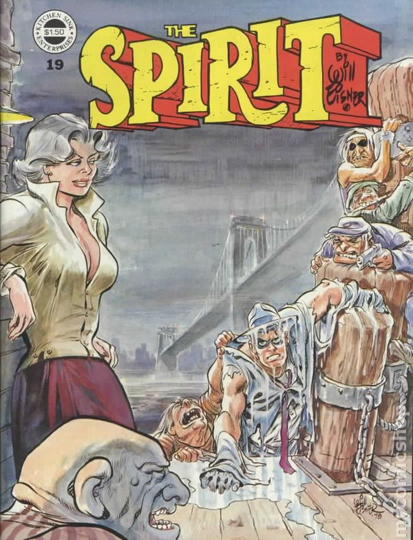 kitchen sink comics spirit 1974 warren magazine kitchen sink comic books 2631