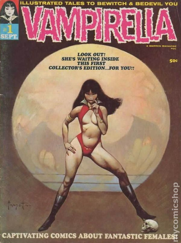 Image result for vampirella first issue