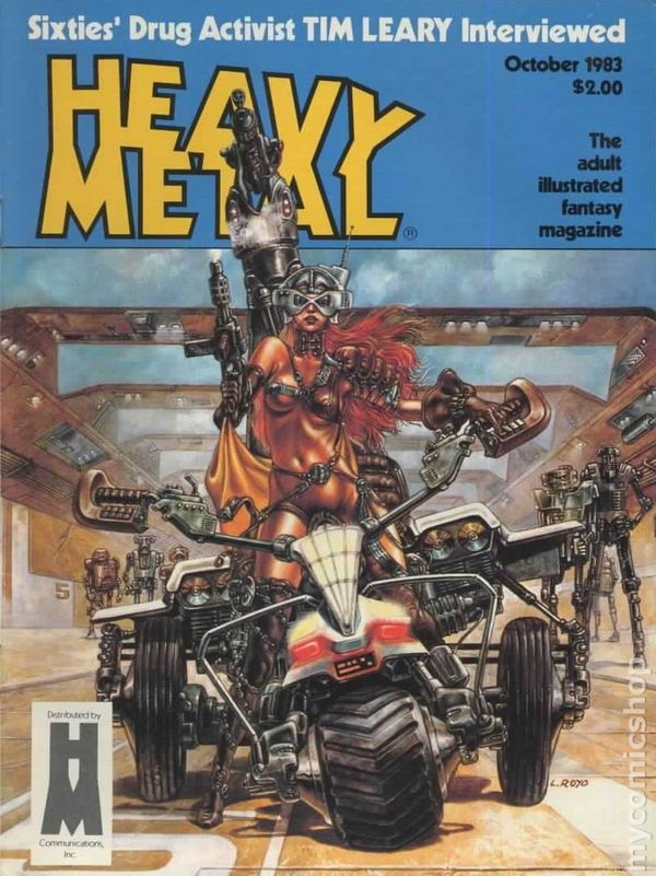 Heavy Metal Magazine 1977 Comic Books 1970 1983