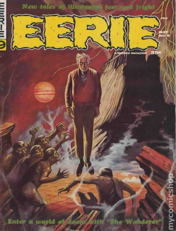 Eerie (1966 Warren Magazine) comic books