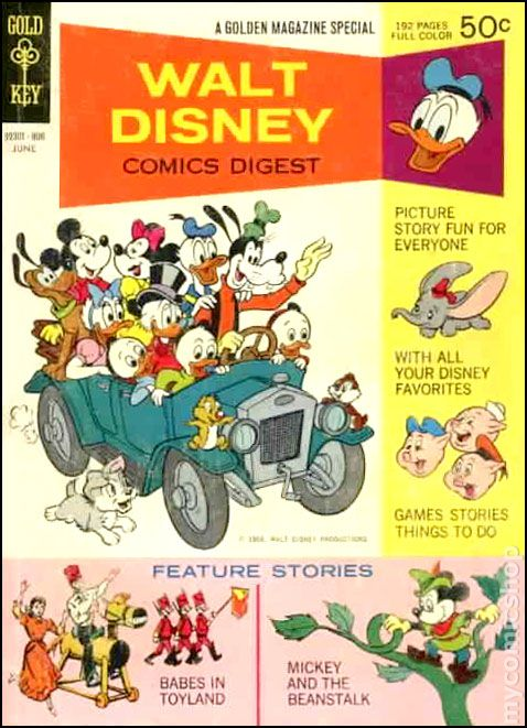 Disney Comic Books Walt Disney Comics Digest