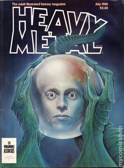 Heavy Metal Magazine 1977 Comic Books