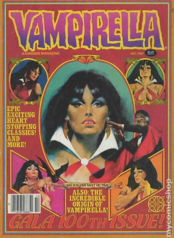 Vampirella 1969 Magazine Comic Books