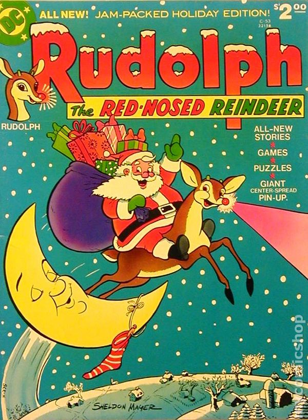 rudolph the red nosed reindeer 1973 dc treasury edition