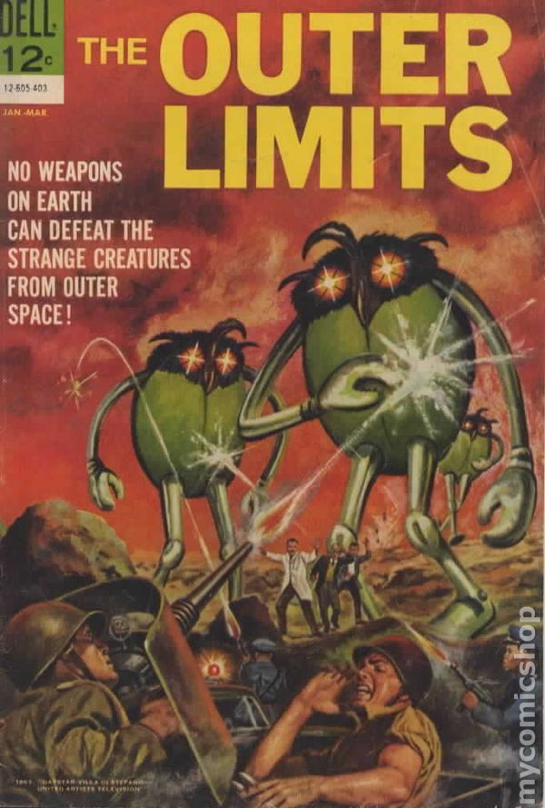 Outer Limits 1964 Comic Books