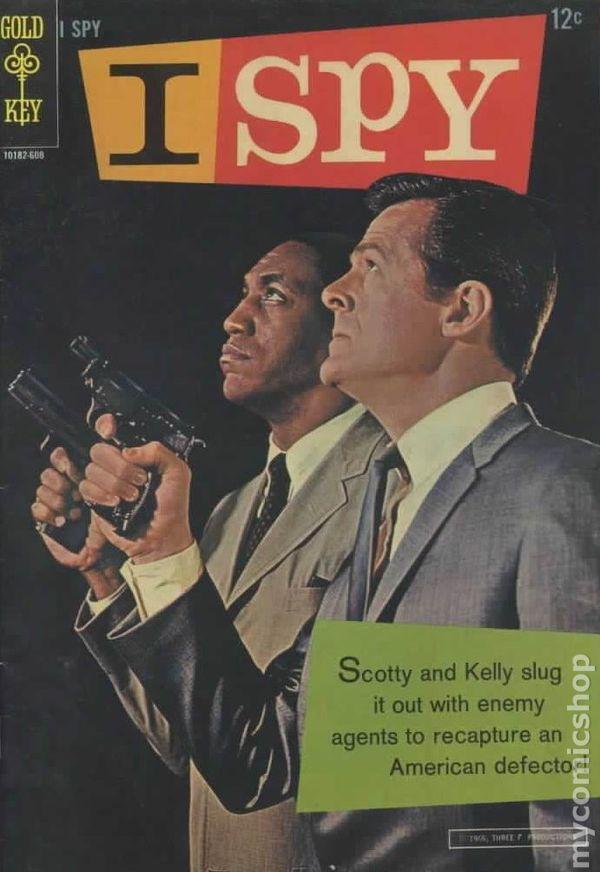 I Spy (1966) comic books