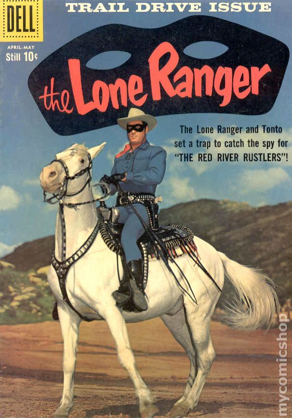 Lone Ranger (1948 Dell) comic books 1950-1959