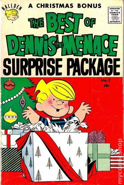 Best-of-Dennis-the-Menace-2-VG-4-0-1959-Stock-Image-Low-Grade