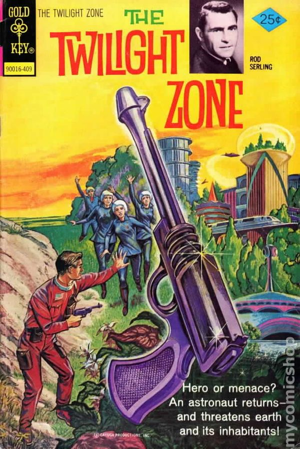 Twilight Zone 1962 1st Series Dell Gold Key Comic Books