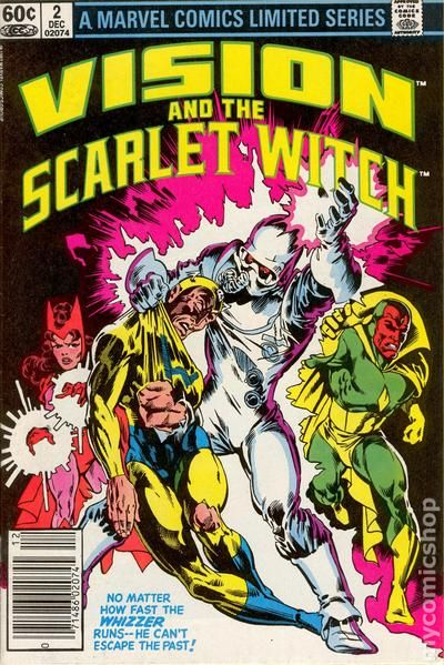 Vision And The Scarlet Witch 1982 1st Series Comic Books