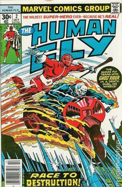 Human Fly 1977 Marvel Comic Books