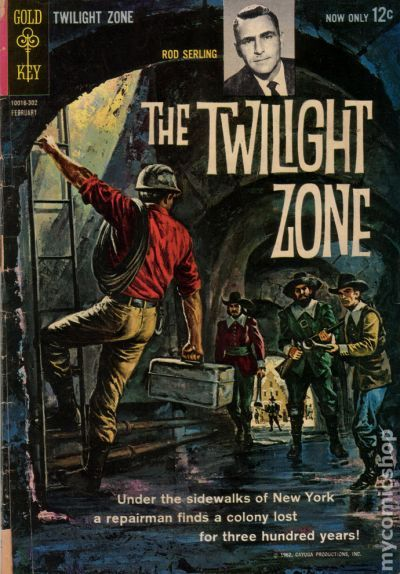 Book Cover Graphism Zone : Twilight zone st series dell gold key comic books