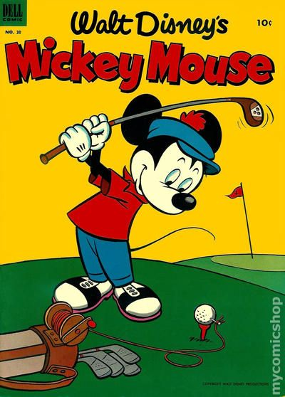 Image result for dell comics mickey mouse