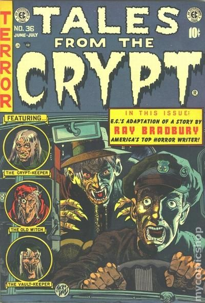 Tales From The Crypt 1950 E C Comics Comic Books