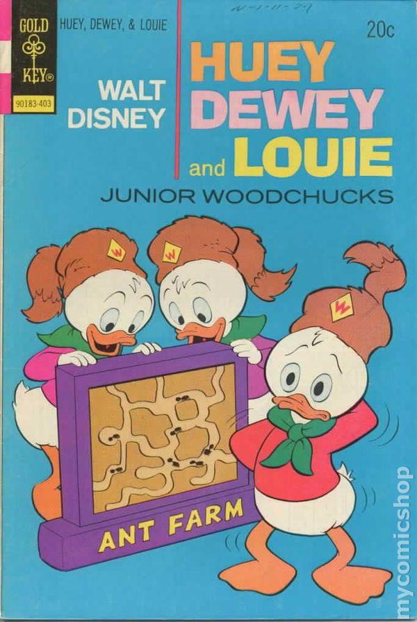 huey dewey and louie junior woodchucks 1966 gold key comic books