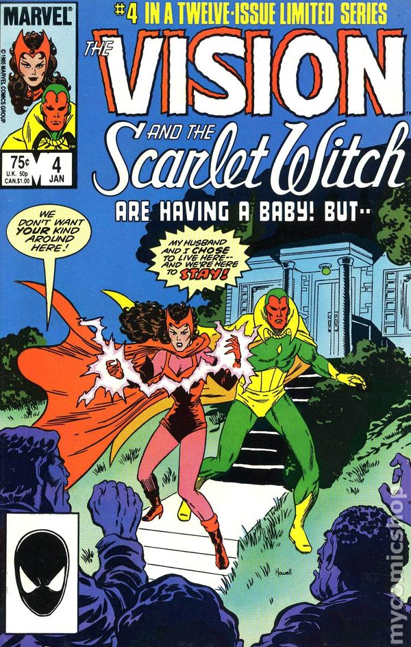 Vision and the Scarlet Witch comic books issue 4