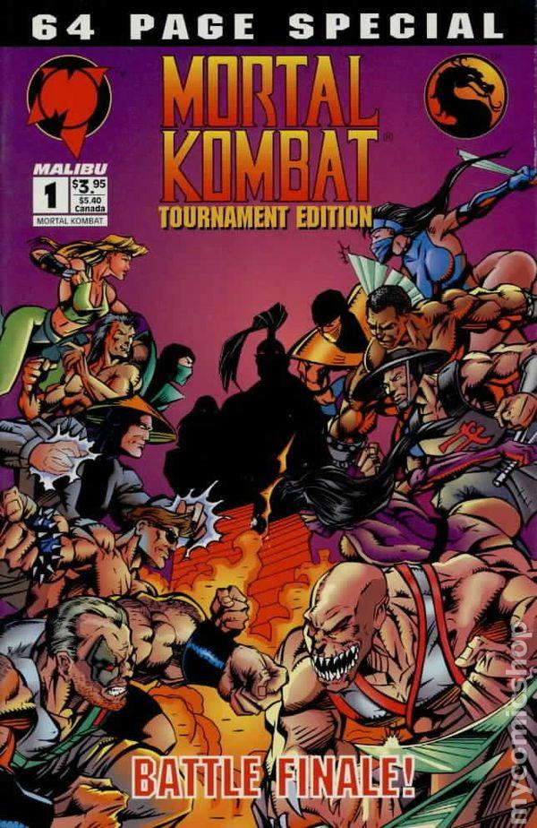 Mortal Kombat comic books issue 1