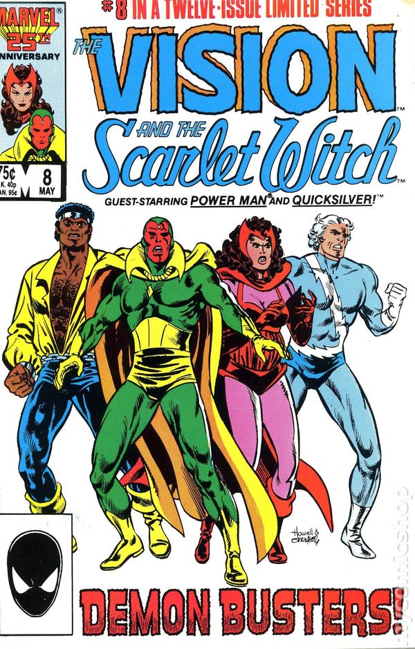 Image result for the vision and the scarlet witch comic