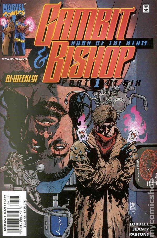 Gambit And Bishop Sons Of The Atom 2001 Comic Books