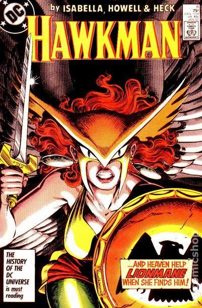 Hawkman Comic Book 2nd Series #5 DC Comics 1986 VERY FINE