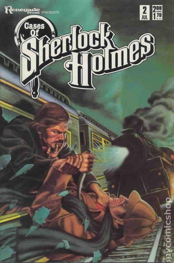 Sherlock Holmes Comic Book