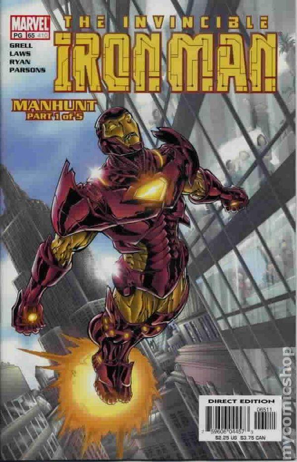 Iron Man 1998 3Rd Series Comic Books-3442