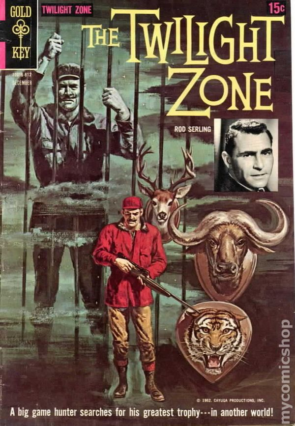 Book Cover Series Zone ~ Twilight zone st series dell gold key comic books