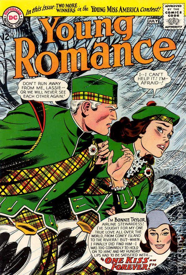 Young Romance Comics (1963-1975 DC) comic books Realize