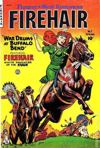 Firehair Comics 1948 Comic Books
