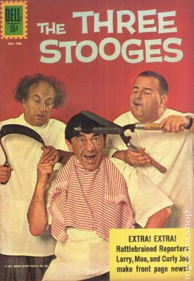 The Three Types Of Totalitarian Systems: Three Stooges (1960 Dell/Gold Key) Comic Books