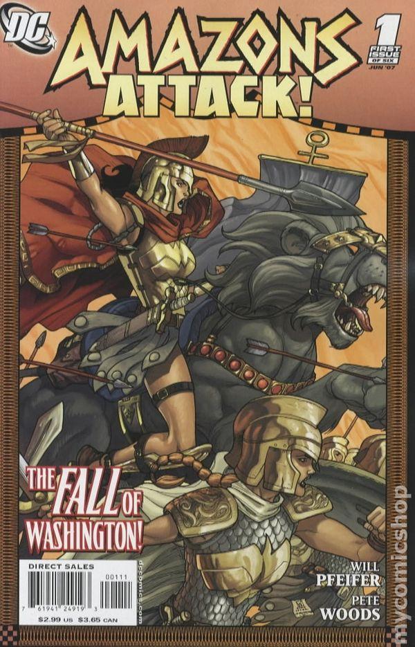 Amazons Attack 2007 Comic Books