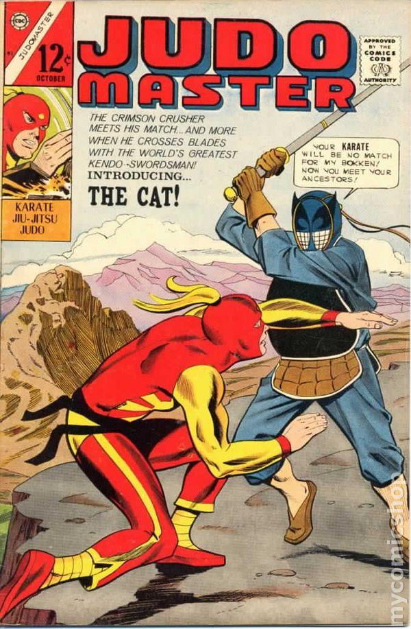 Judo Master 1966 Charlton Comic Books