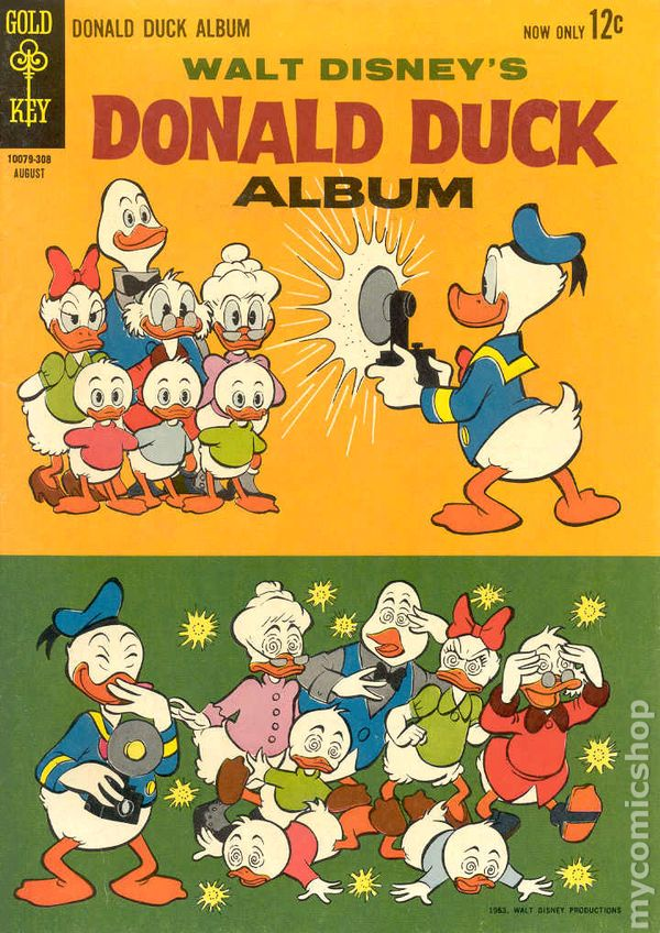 Image result for donald duck 1960s comics