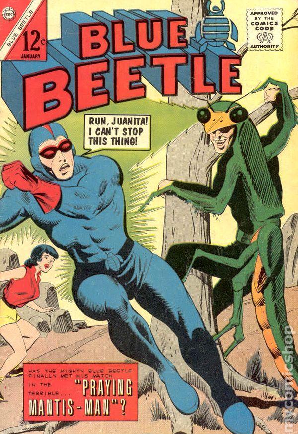 Blue Beetle 1964 Charlton Comic Books